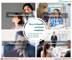 Sales Crm, Sales And Marketing, Customer Complaints, Software
