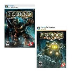 Bioshock and Bioshock 2, both excellent gaming!