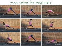 A great sequence of poses for beginners to follow :)