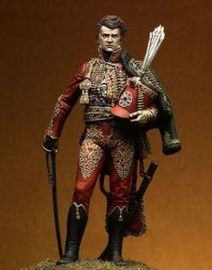 Pegaso-Models-Napoleonic-General-Fournier-Sarloveze-90mm-Model-Unpainted-Kit