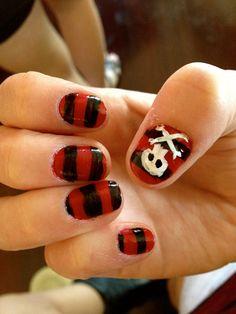 argghhhhh. pirate nails