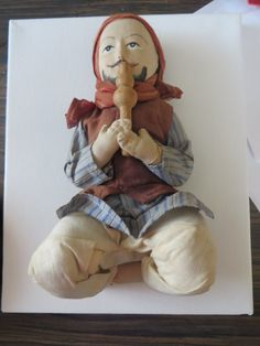Vintage Indian Snake Charmer Hand Sewn Cloth by PECollectibles, $25.00