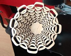 Scroll saw patterns fretwork bowls layered von AlexFoxUA auf Etsy Scroll Saw Patterns, Deco, Crosses, Project Ideas, Bowls, 3d, Etsy, Craft, Deko