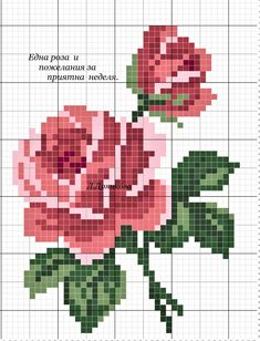 Most recent Photo Cross Stitch rose Concepts Cross-stitch is an easy style of needlework, well suited to the fabric offered to stitchers today. Cross Stitch Art, Simple Cross Stitch, Cross Stitch Borders, Cross Stitch Flowers, Counted Cross Stitch Patterns, Cross Stitch Designs, Cross Stitching, Cross Stitch Embroidery, Embroidery Patterns