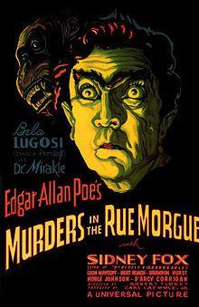 """Dicas de Filmes pela Scheila: Filme: """"Os Assassinos da Rua Morgue (1932)"""""""