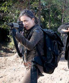Rosita in The Walking Dead Season 6 Episode 14 | Twice As Far