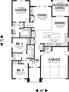 Plan #48-598 - Houseplans.com