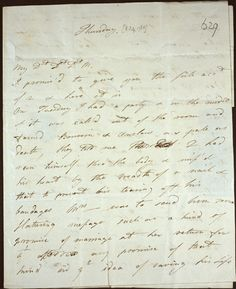 Two letters from Georgiana, Duchess of Devonshire to Lady Elizabeth Foster, March 8, 1784.The gambling debts that beset her were thus confessed to Lady Elizabeth Foster: ...Before I say a word more you must promise my very Dearest Dearest Dst angelic Love never to let Canis [their shared nickname for the 5th Duke] know I have told this secret to you..'