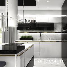 Luxury Kitchen Design, Kitchen Room Design, Kitchen Decor, Luxury Rooms, Design Moderne, Cuisines Design, Home Fashion, Style At Home, Home Kitchens