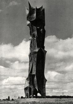 Dušan Džamonja: Spomenik decembarskim žrtvama u Zagrebu, 1960.