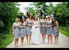 This looks like a fun one!  A Few Unexpected Wedding Guests Resulted In One Magical Photo