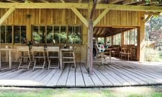 Bartherotte cabins are all about terrace living.