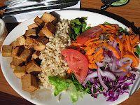 Vegan Yoga-Lunch at Natural Cafe in Santa Barbara, California