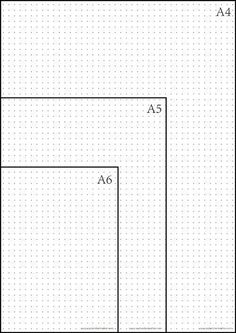 When comes to bullet journal paper, there is no better choice than the dot grid pages. The dotted grid pattern features dots that provide guidance which ruled & Grid Paper Printable, Journal Pages Printable, Bullet Journal Printables, Journal Template, Free Printable, Planner Template, Bullet Journal Paper, Bullet Journal Dot Grid, Bullet Journals