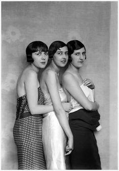 Models in Jean Patou, photographed by Boris Lipnitzki, 1927