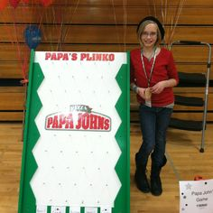 Papas Plinko had fun at a school carnival