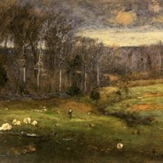 George Inness - Frosty Morning, Montclair