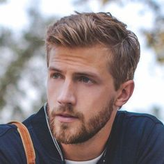 Short Sides with Messy Long Top and Beard