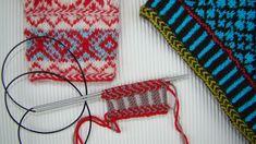 tutorial puntomoderno.com para hacer una trenza a dos colores, se coloca en cualquier lugar de la labor, en agujas circulares One And Other, Free Sewing, Wedding Events, Cleaning Wipes, Flower Arrangements, Knit Crochet, Stitch, Shit Happens, Knitting