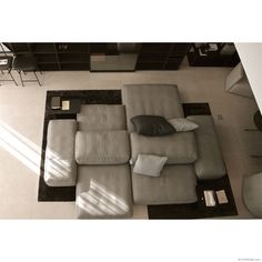 Extrasoft seating system by Piero Lissoni for Living Divani