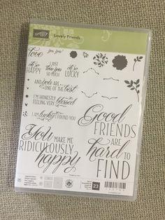 Bruno Bertucci   Stampin Up   stampinbruno   Lovely Friends   Handmade Card