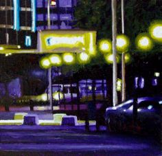 Gerard Boersma - Aegon- Nocturnal City Scene