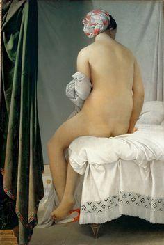 Jean Auguste Dominique Ingres - La Grande Baigneuse [1808] | Flickr - Photo Sharing!