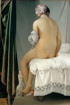 Jean Auguste Dominique Ingres - La Grande Baigneuse [1808] | Flickr - Photo Sharing!