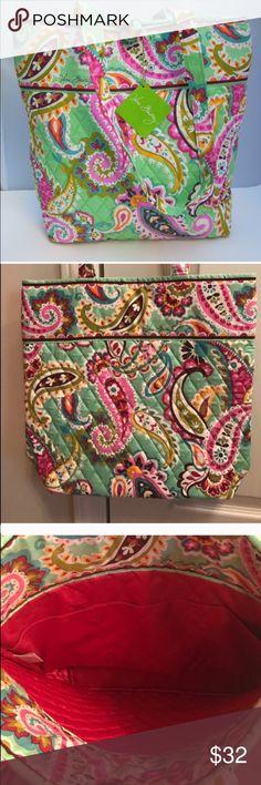 NWT Vera Bradley tote bag in tutti frutti NWT Vera Bradley tote bag in tutti frutti Vera Bradley Bags Totes