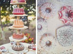 Bundt cake tower by Cindytum