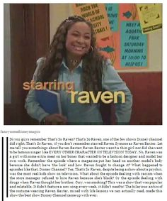 That's So Raven was seriously the best show! At least compared to the shows on Disney Channel now. Disney Nerd, Disney Love, Disney Magic, Disney Stuff, Disney And Dreamworks, Disney Pixar, Old Disney Shows, Old Disney Channel, That's So Raven