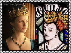 11 June 1456 - Birth of Anne Neville  at Warwick Castle