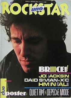 Se Ciao 2001 incarnava gli anni 70, Rockstar arrivò negli anni 80, ma ha spesso amato guardarsi alle spalle. All'inizio il nome era diverso, Popster, ma cambiò presto. Rivista grande, patinata, fot...