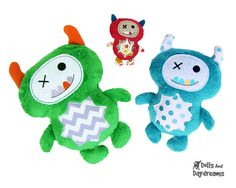 * Dolls And Daydreams - Doll And Softie PDF Sewing Patterns