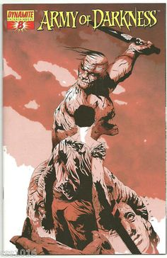 ARMY OF DARKNESS #8 Cool 1/10 VARIANT by Jae Lee! NM http://r.ebay.com/USRCuS