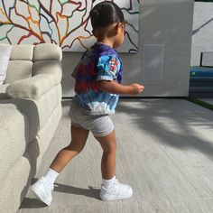 Cute Kids Fashion, Cute Outfits For Kids, Toddler Girl Outfits, Baby Girl Fashion, Toddler Fashion, Black Baby Girls, Cute Baby Girl, Jenner Kids, Kylie Jenner Style
