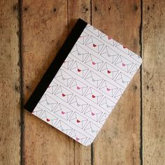 Mini Notebook, Teacher Gift, Heart Notebook, Small Notepad, Journal, Diary, Altered Composition Book, Pocket Notebook, Cute Notebook by TiddleywinksDesigns on Etsy