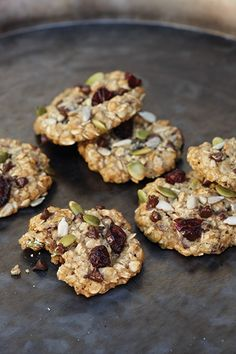 yum Trail Mix Cookie recipe from @miravalresorts #spa style for #HomemadeCookiesDay!