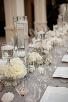 34 best long table decorations images dream wedding wedding rh pinterest com