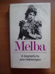NELLIE MELBA BIOGRAPHY HETHERINGTON FIRST EDITION  BOOK HB DW AUSTRALIAN - http://books.goshoppins.com/biographies-memoirs/nellie-melba-biography-hetherington-first-edition-book-hb-dw-australian/