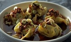 Chicken and prawn dumplings from Andrew McConnell's Supernormal cookbook