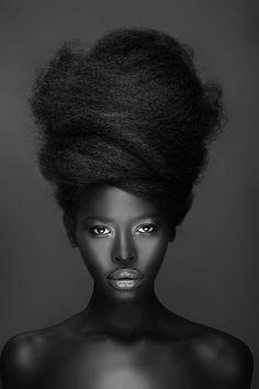 Gloria Nyaega - Photography by Adham Abou-Shehada. ☀ #black