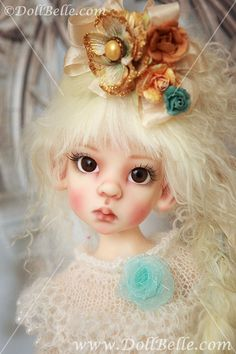 kaye wiggs dolls   Kaye Wiggs Fair Layla Elf with custom face-up by Sally of Lilygami ...