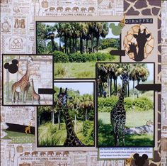 Giraffes - Graphic 45 - Safari Adventure Collection