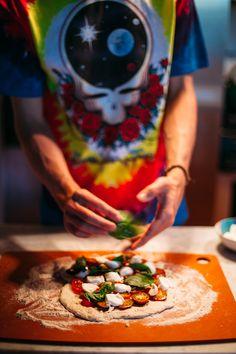 Grilling Pizza in Woodstock - Golubka Kitchen