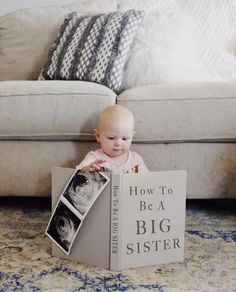 """Baby Kersey Number September of . I love you ❤️ I just imagine Brinley saying, """"Jokes on you, I can't read. Baby Number 2 Announcement, Second Pregnancy Announcements, Cute Baby Announcements, Cute Pregnancy Announcement, Pregnancy Announcement Photos, Big Brother Announcement, Pregnancy Photos, September Baby, Foto Baby"""