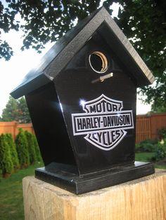 Harley Davidson Birdhouse by Jimshabitat.deviantart.com