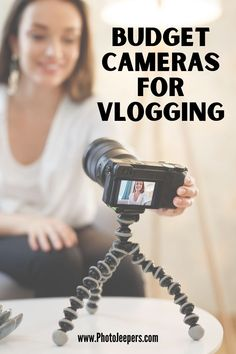 The 10 best budget vlogging cameras for vloggers and photographers | How to choose the best budget camera for vlogging | The essential features of a GOOD budget vlogging camera | What vlogging camera should you buy when you're on a budget | Photography equipment for vlogging | Photography tips for vloggers #vlog #vlogging #cameragear #photojeepers Photography Gear, Photography Equipment, Photography Business, Blogging Camera, Take Video, Airpod Case, Best Budget, Best Camera, Taking Pictures