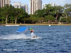 East Coast Park - either try this sport, cycling along the coast or having a BBQ :D #SGTravelBuddy