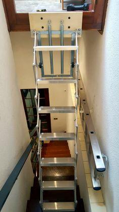 56 mejores im genes de escaleras plegables en 2017 - Escalera plegable altillo ...
